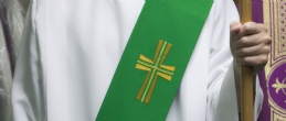 DEACON STOLE - CROSS EMBLEM