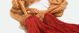 GOLD BRAIDED CINCTURE