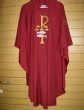 CLEARANCE-CUSTOM 99 RED CHASUBLE