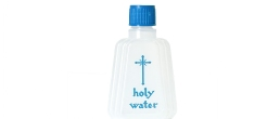 1-1/2 oz. HOLY WATER BOTTLE