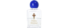 2-1/2 oz. CLEAR HOLY WATER BOTTLE